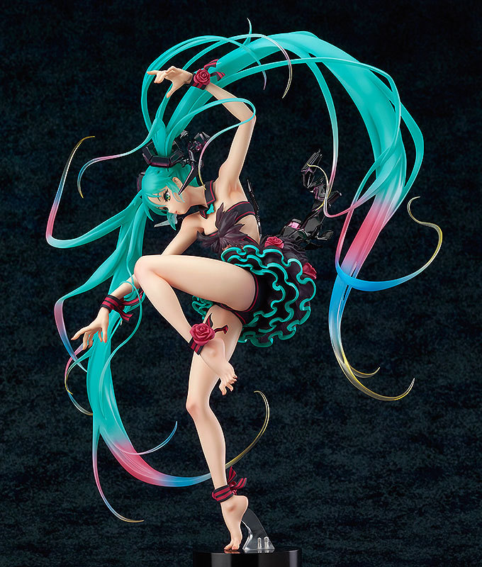 NEW hot 22cm dancing Hatsune Miku Action figure toys doll collection with box