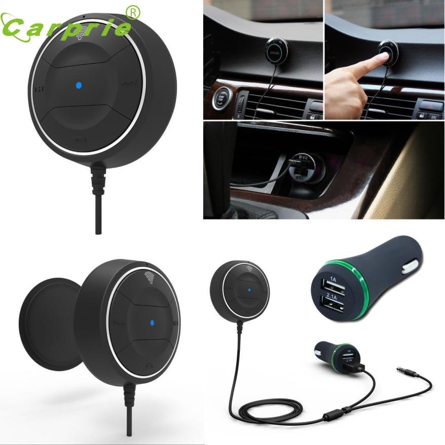imágenes para Nueva Llegada Bluetooth Wireless 4.0 Música Receptor 3.5mm Adaptador de Coche Manos Libres AUX Del Altavoz nr4