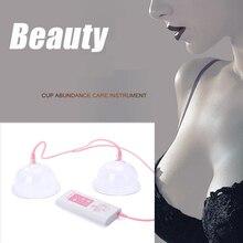 все цены на Breast Massage Enlargement Device Vacuum Pump Cup Breast Masajeador Enhancing Cupping Machine Nipple Enlarge Massager Electric онлайн