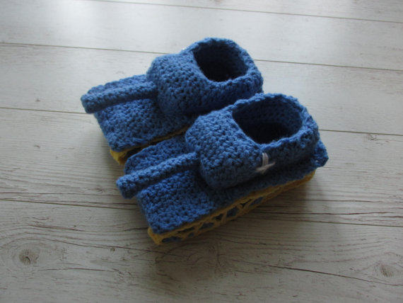 Online Shop Tank Slippers Funny Gift For Him Crochet Tank Slippers