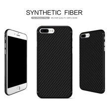 Nillkin синтетического волокна топ случай мобильного телефона для iphone 7 plus жесткий Углеродного Волокна PP Пластика Задняя Крышка Крышка для iphone 7 s плюс