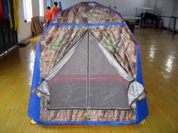 Inflatable inflatable tents
