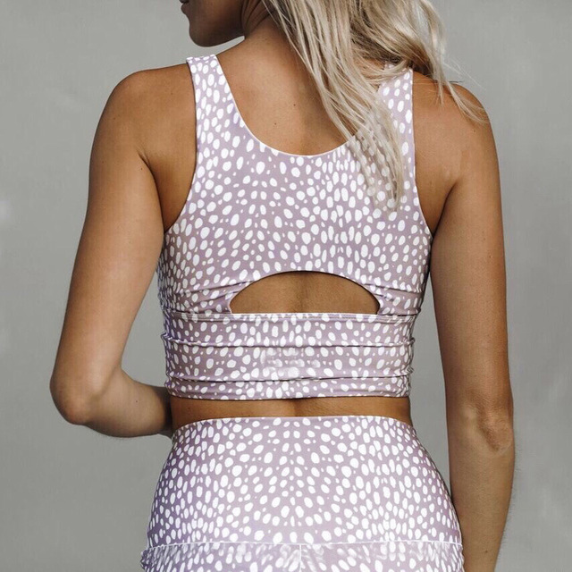 2 Piece Yoga Female Set Sports Clothes