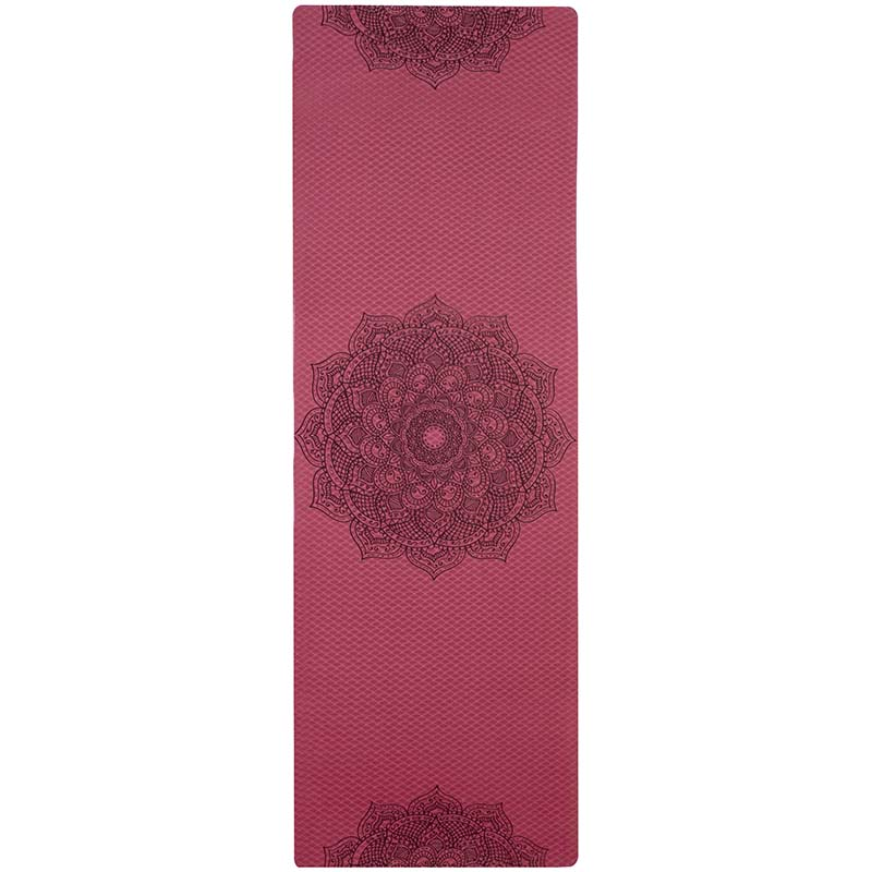 Non-slip TPE Yoga Mats For Fitness Tasteless Pilates Gym Exercise Sport