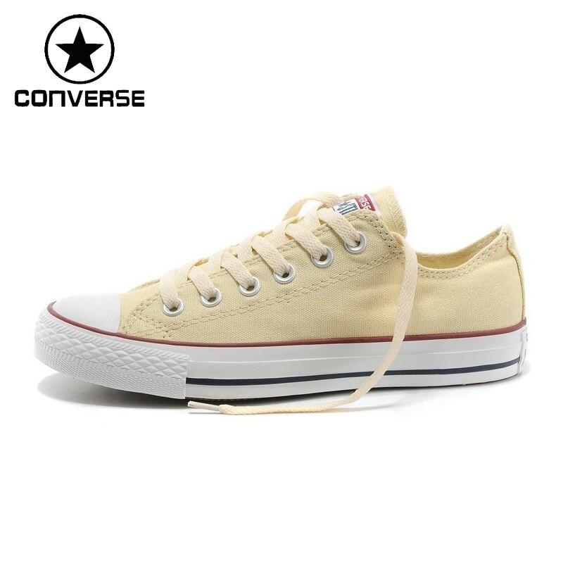 Original New Arrival 2018 Converse Low top Classic Unisex Skateboarding Shoes Canvas Sneakser original new arrival converse classic kids skateboarding shoes low top canvas shoes sneakser