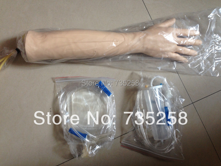 Senior Venipuncture Arm Training Model ,Transfusion Arm Training Model,Venipuncture Arm Simulation Model economic injectable training arm model with infusion stand iv arm injection teaching model