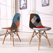 Home&office modern simple computer chair, dining chair, stylish leather chair, 9 colors available, conference chair(China)