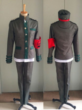 Anime New Danganronpa v3 Korekiyo Shinguji Cosplay Costume School Uniform Custom Made