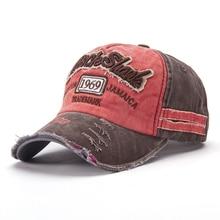 цены 2019 New baseball Retro caps 3D embroidery 1969 Sunscreen sun hats cotton adjustable snapback hat Unisex hip-hop cap