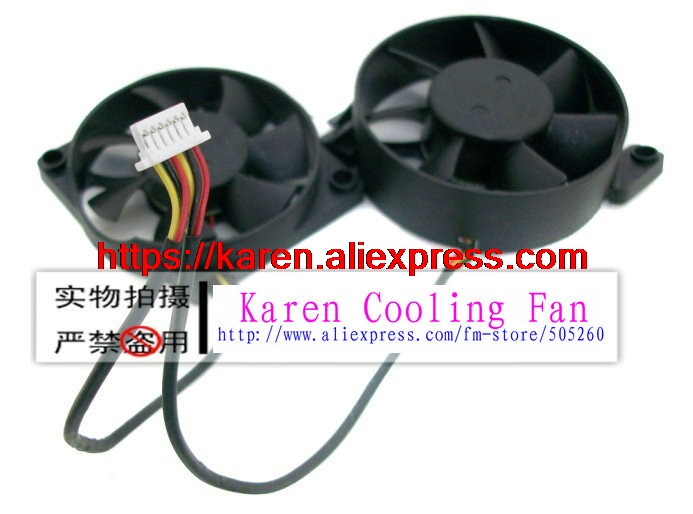 ADDA AD0512UB-D73 AD4512XB-G73 3wire blower cooling fan 1SET 2PCS nmb 3610kl 05w b49 9225 24v 3 wire cooling fan blower