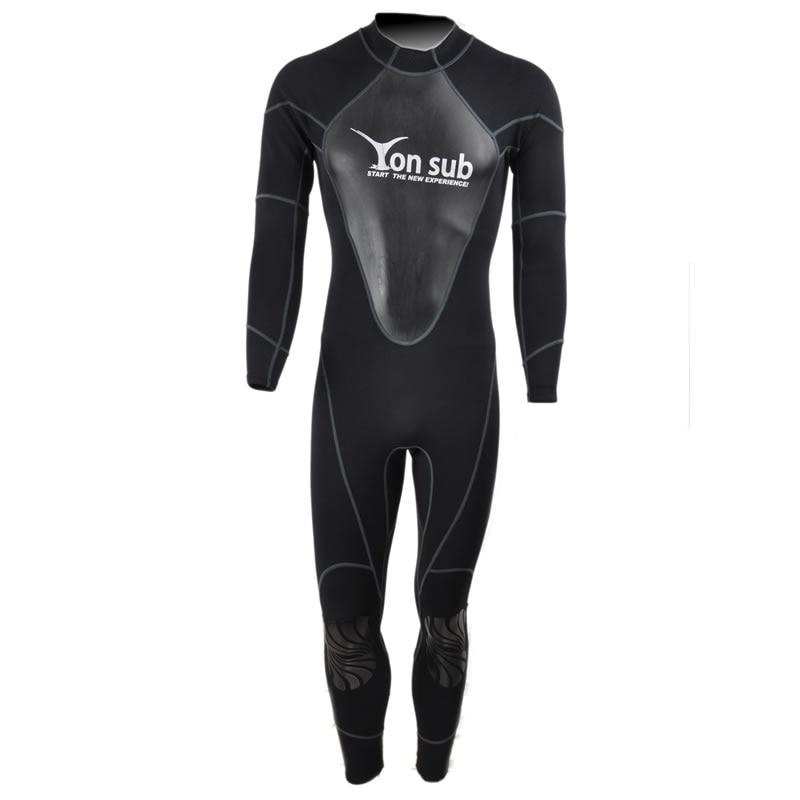 1.5mm Neoprene Scuba Swimwear Muta Subacquea vestito di Costumi Da Bagno Da Surf E Pesca Subacquea Vestito Lo Snorkeling Professionale Nero YW8002