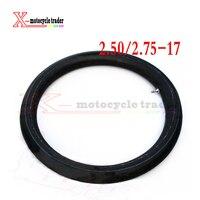 CRF 70/KLX110/peças da bicicleta da sujeira 17 tubo interno para bicicleta da sujeira/pit bike frente 17 polegada peças de pneus 2.50-17 tubo Interno