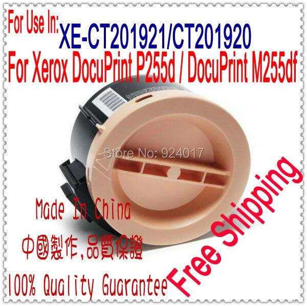 For Xerox M P 255 M255 P255 Toner Refill,Toner For Fuji Xerox DocuPrint P255 M255 CT201920 CT201921 Printer Toner Cartridge,4PCS