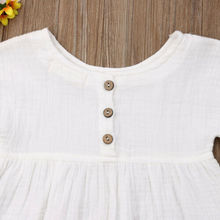 0-18M 2Pcs Cotton Linen Baby Girl Clothes Kid Girl Outfit Clothes Linen T-shirt Top+Shorts Pants Toddler Infant Summer Clothing