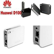 Huawei D100 3g Беспроводной маршрутизатор преобразует USB 3g модем Dongle 54 Мбит/с в сети Wi-Fi
