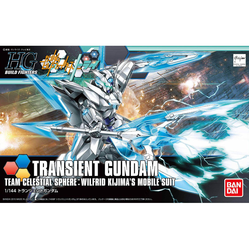 1 PCS Bandai HG Build Fighters HGBF 034 1/144 Transient Gundam Mobile Suit Assembly Model Kits action figure gunpla juguetes стоимость