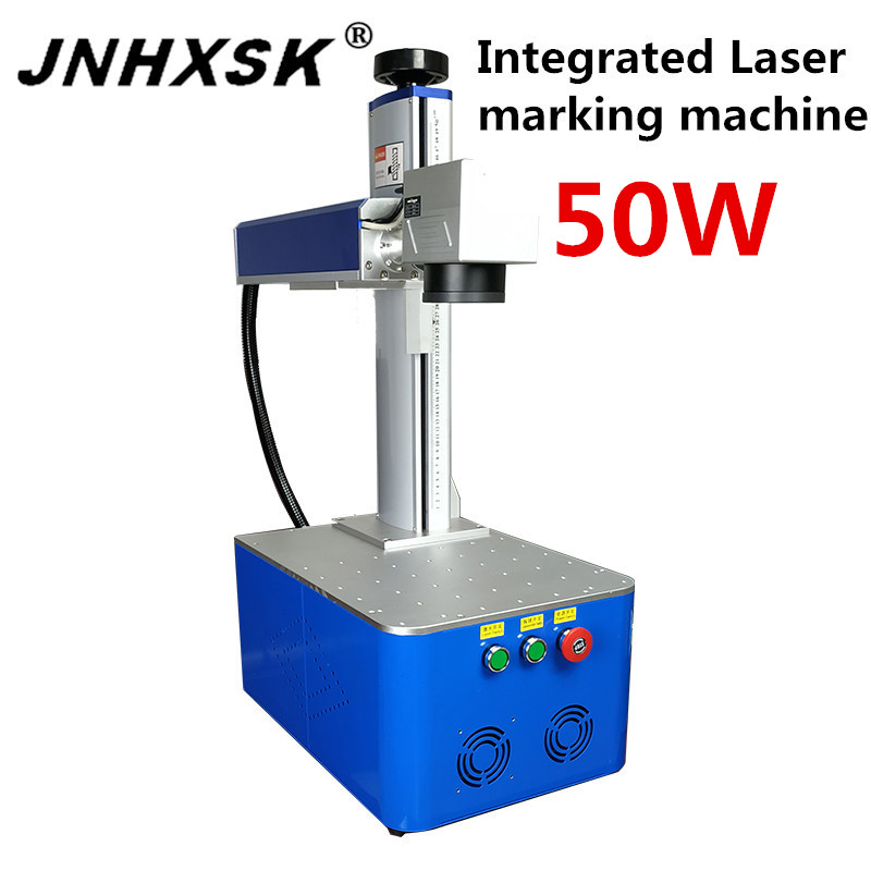 JNHXSK 50W CO2 110v/220v Integrated Laser Marking Machine With Maxphotonics Laser Source Interface USB 2.0 Engraver CNC CO2