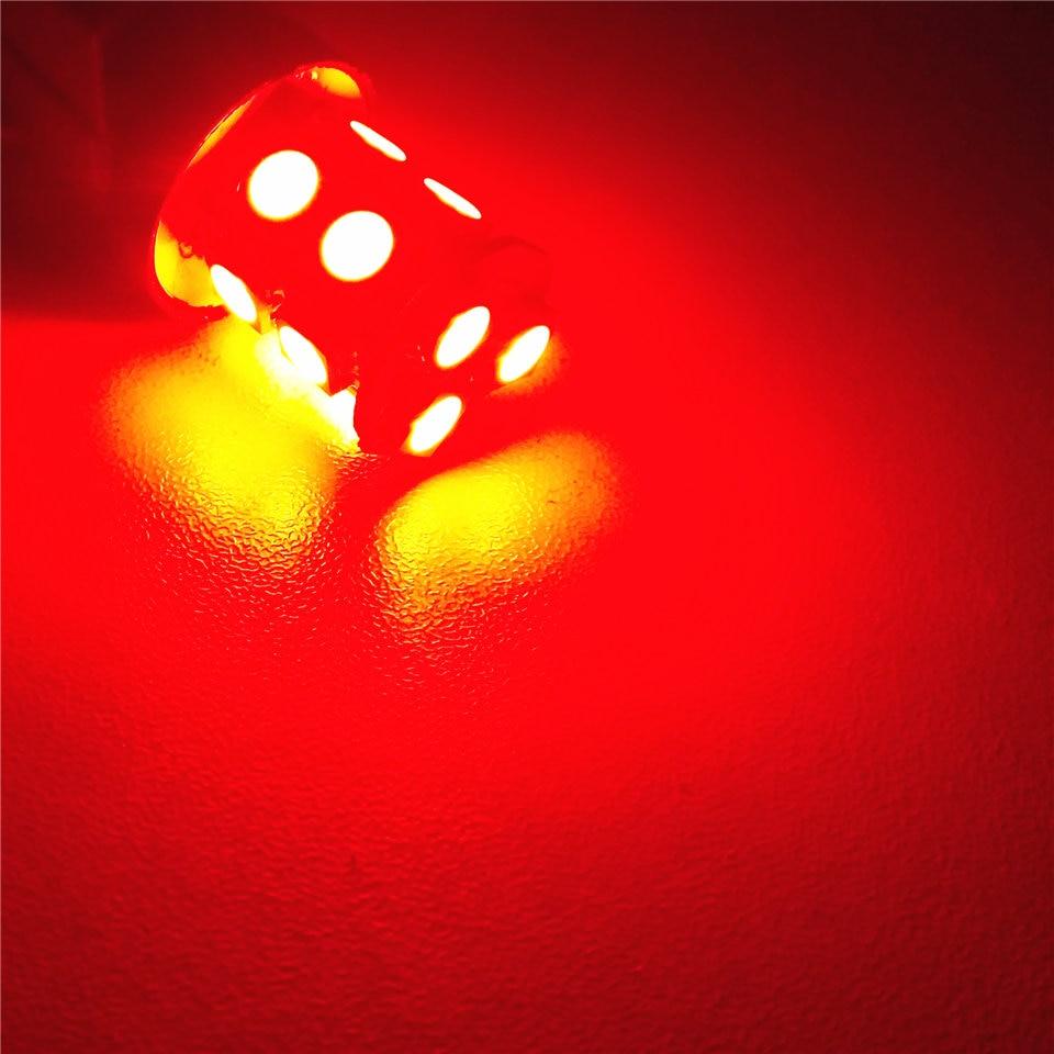 12V LED (13 * 5050SMD) лампа за кола крушка W21 / 5W - Автомобилни светлини - Снимка 3
