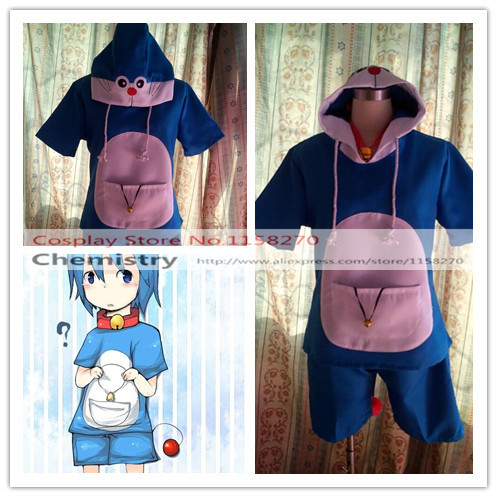 Doraemon personification Cosplay Costume