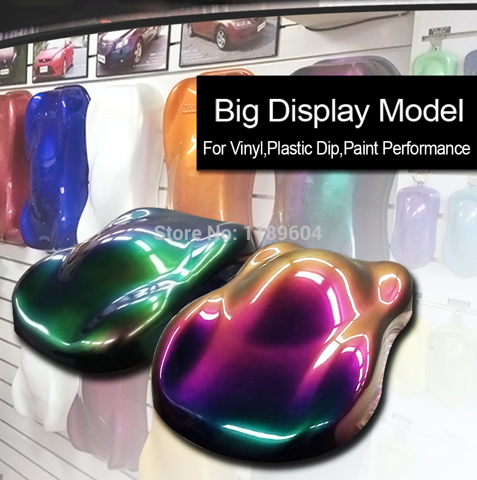 69*41cm plasti dip display model Plastid Car speed shape for vinyl / dip paint colors displaying MX-A2 stc15f104e 35i dip 15f104 dip8