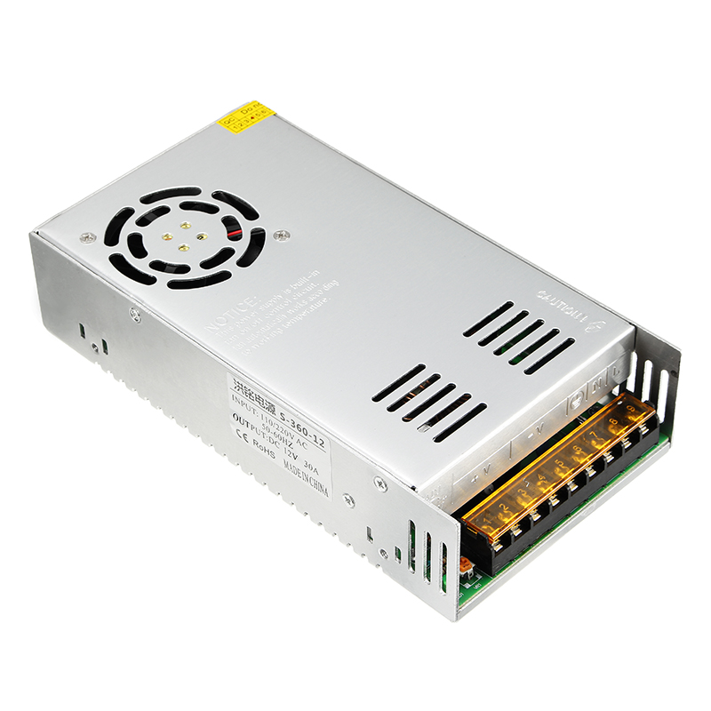 Original 12V 30A 360W Power Supply With Charging Cable For ISDT SC-608 Q6 Plus Q6 LITE UNA6 UNA9 Charger