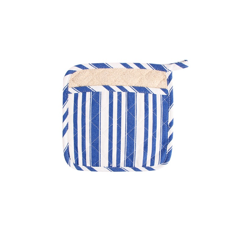 Guante Cocina 1pcs Stripe Style İkiqat Istifadə Soba Mitts və - Mətbəx, yemək otağı və barı - Fotoqrafiya 3