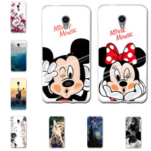 ФОТО case for meizu m5s case 5.2 inch painted animal cover silicon tpu soft protective case back cover for meizu m5s 5s cover coque