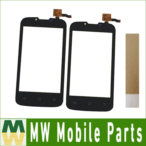 1PC/ Lot 4.0For Fly IQ4407 IQ 4407 ERA Nano 7 Touch Screen Panel Touch Replacement Digitizer Black Color With Tape