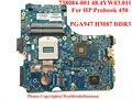 Original laptop motherboard 734084-001 para HP Probook 450 G1 motherboard Intel HM87 48.4YW03.011 DDR3 não-integrado totalmente teste