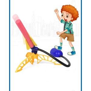 Children's toy pneumatic space