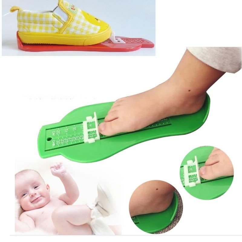 Baby foot ruler kids foot length measuring gauge device child shoe calculator toddler infant shoes  gauge tool 200pcs via DHL toddler shoe gauge children foot measurer yellow