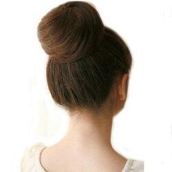 Amir Stilvolle Pferdeschwanz Frauen Clip in/auf Haarknoten Haarteil Haarverlängerung Scrunchie Synthetische Haarteile