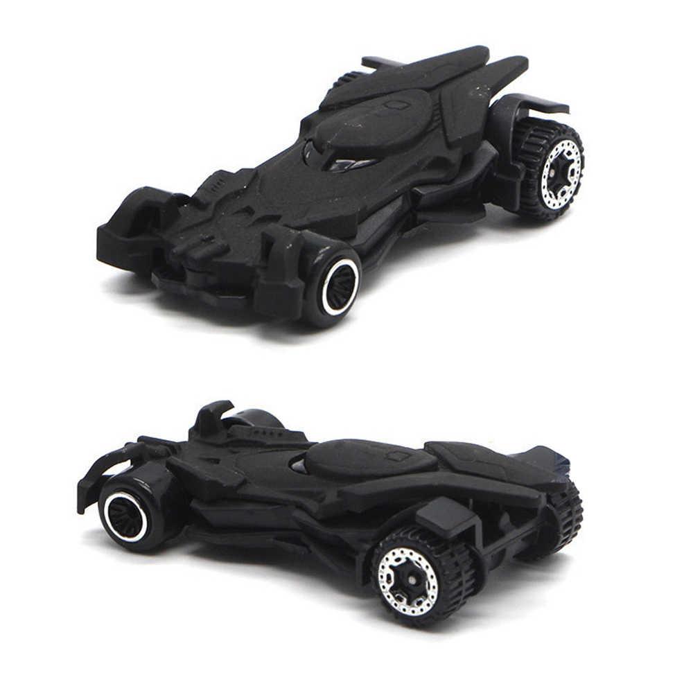 1: 64 6 шт./компл. летучей мыши Экипаж Бэтмена, брелок для автомобильных ключей, игрушечных моделей американский фильм 6th поколения «летучая мышь» колесница металлический костюм с ображением машинки для детей, подарки для детей