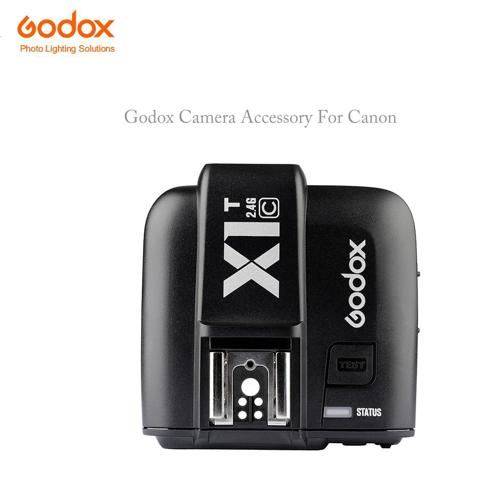 Godox Camera Accessory X1t x1t-c X1r X1r-c TTL Function 2.4G Flash Remote Trigger Transmitter Receiver for Canon Camera godox x1t c