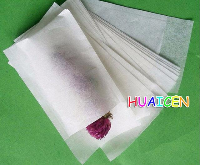 1000pcs Lot Filters Extra Slim Empty Tea Bag Paper Filter 6 8cm