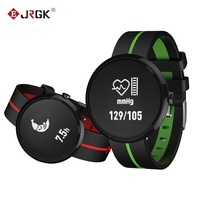 Smart Bracelet Watch V06S Blood Pressure Heart Rate Monitor Wristband Band Clock Life Waterproof For iOS Android Men PK V8 GT08