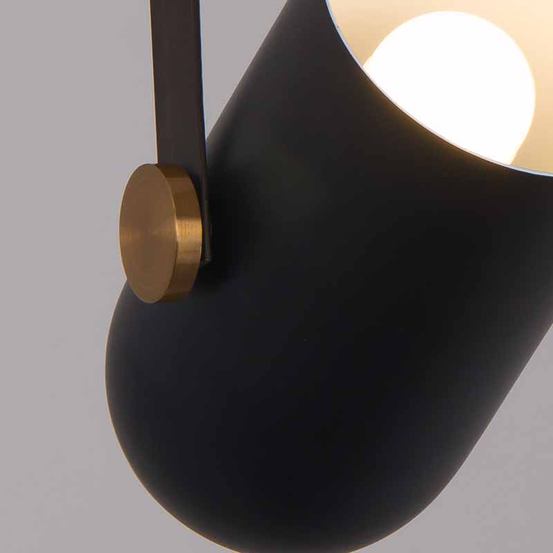 Modern Led Pendant Light Industrial LOFT Women 39 s Clothing Store Ceiling Spotlights Nordic Black Bedroom Bedside Hanging Lamp in Pendant Lights from Lights amp Lighting