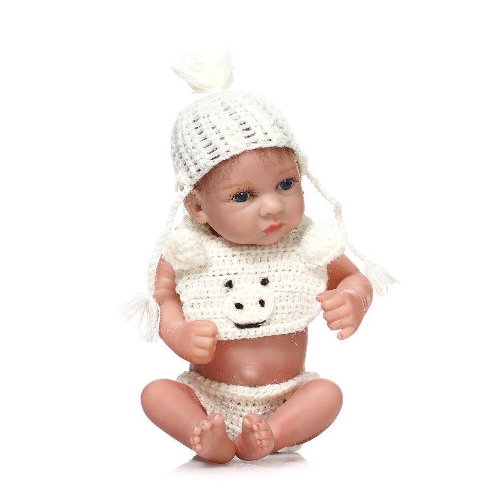 Silicone souple Reborn bébé poupées jouet réaliste nouveau-né garçon bébés Bebe poupée bain douche jouer maison éducation précoce jouet pour cadeau