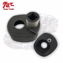 Tie Rod Wrench 33-42mm Car Inner Steering Rudder Rod End Removal Tool Automotive Tool Round Black Auto Repair