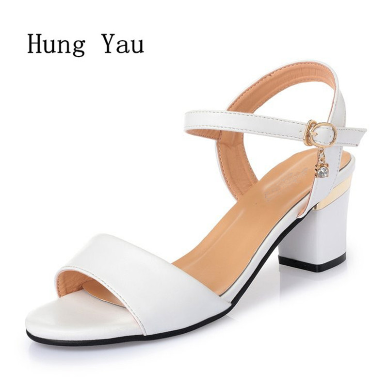 Woman Sandals Shoes 2018 Summer Style Wedges Pumps High Heels Buckle Strap Gladiator Sandals Shoes Women Fashion Slippers Shoes enmayer fashion summer shoes woman high heels wedges sansals women hook