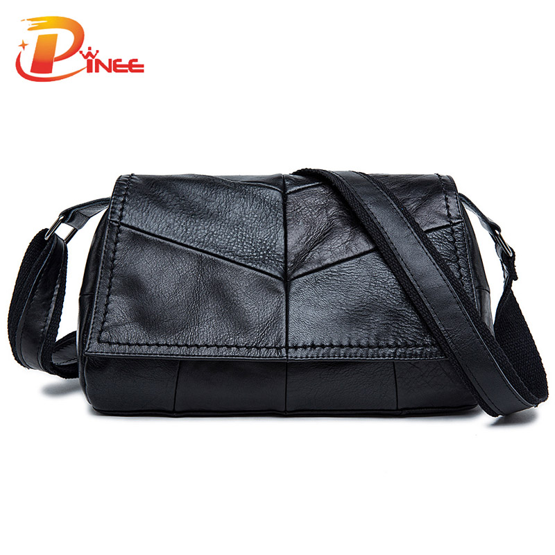 ФОТО Genuine leather bag ladies 2017 Cowhide Patchwork  Women messenger bags handbags women famous brand designer high quality