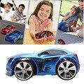 Corridas de Carros de Brinquedo 2.4G 6CH Comando de Voz Inteligente Relógio Carro de Controle Remoto Vermelho