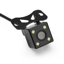 Автомобильная камера заднего вида с HD ночными светодиодными лампами для DVD Back up Reverse камера заднего вида с парковочной линией + шестиметровый провод