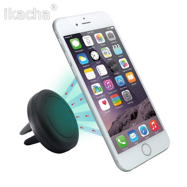 360 Degree Universal Car Holder Magnetic Air Vent Mount Dock mobile phone holder For  iPhone 6s Samsung HTC celular carro