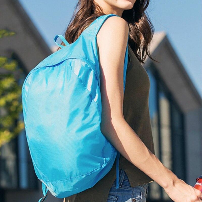 Уличная Мини Складная Большая вместительная сумка для хранения оборудования сумка для горных походов рюкзак для спорта на открытом воздух...