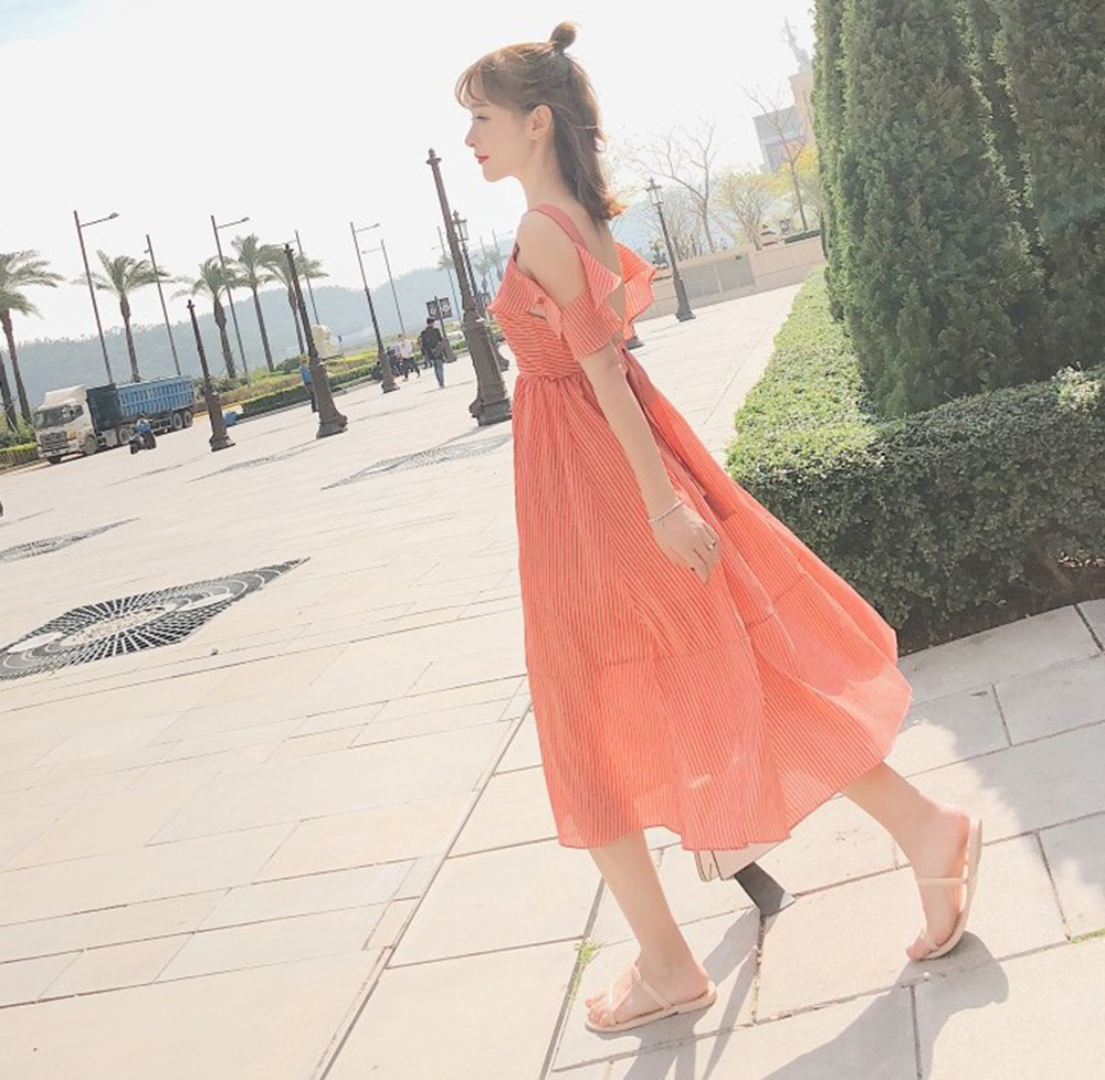 High Quality Summer Dresses 2018 Fashion Women Casual Loose Plus Size Elegant Dress Short Sleeve pink Dress Vestidos brand