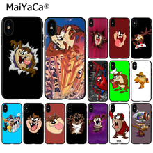 MaiYaCa Looney Tunes Tasmanian Devil Taz Customer High Quality Phone Case for iPhone 6 6s 8 8Plus 5 5S SE 7 7plus XRX XS MAX