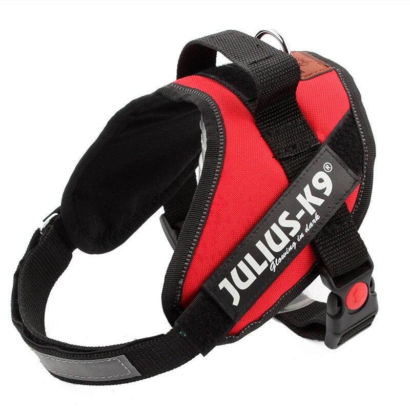 comfortable nylon dog harnessvest 4 colors