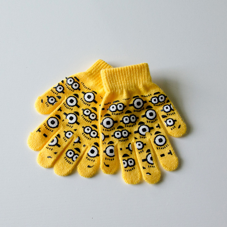 Foreign Small Yellow People Despicable Me Thief Father Child Baby