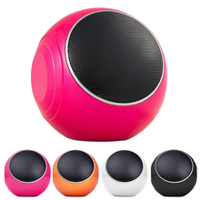 Mini wireless Bluetooth Speaker Stereo Speaker Box Protable WMA WAV MP3 Player Support Handsfree TF Card FM Radio Music Players